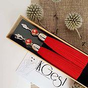 Earrings handmade. Livemaster - original item Earrings: