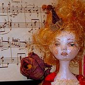 Куклы и игрушки ручной работы. Ярмарка Мастеров - ручная работа Лиза. Будуарная, коллекционная кукла.. Handmade.