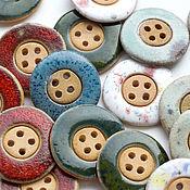 Материалы для творчества handmade. Livemaster - original item Buttons