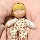 Вальдорфская игрушка ручной работы. Заказать Жёлтая Баинька. Анастасия Яковлева Игровые куклы. Ярмарка Мастеров. Малиновый, розовый, рассвет