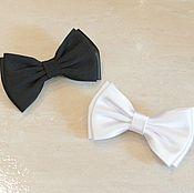 """Галстуки ручной работы. Ярмарка Мастеров - ручная работа Бабочка-галстук """"Инь Янь"""". Handmade."""