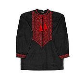 "Одежда handmade. Livemaster - original item Men`s embroidered shirt ""Earthly Love"". Handmade."