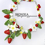 Украшения handmade. Livemaster - original item Kids bead necklace