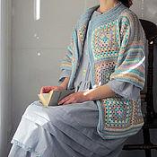 """Одежда ручной работы. Ярмарка Мастеров - ручная работа Кардиган """"Опаловый"""". Handmade."""