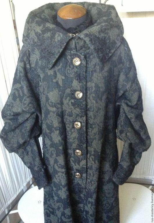 Верхняя одежда ручной работы. Ярмарка Мастеров - ручная работа. Купить Пальто Винтаж. Handmade. Комбинированный, длинное пальто, кружево