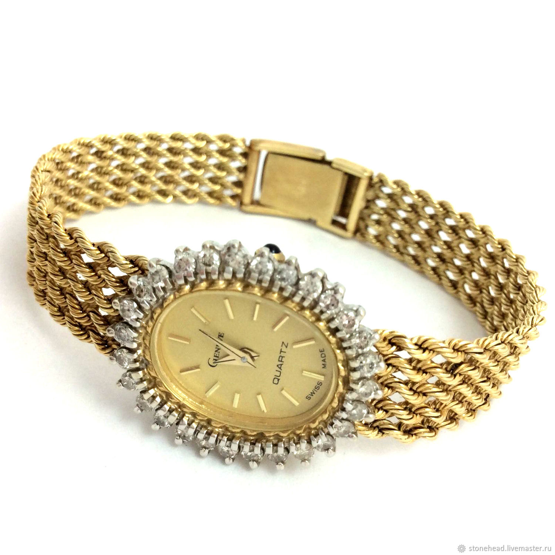 Антикварные наручные часы золотые углич наручные часы