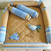 Для дома и интерьера ручной работы. Ярмарка Мастеров - ручная работа Покрывало на пеленальный столик. Handmade.