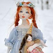 Куклы и игрушки ручной работы. Ярмарка Мастеров - ручная работа Коллекционная кукла Василиса. Handmade.