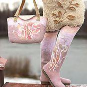 """Обувь ручной работы. Ярмарка Мастеров - ручная работа Комплект """"Травы"""". Handmade."""