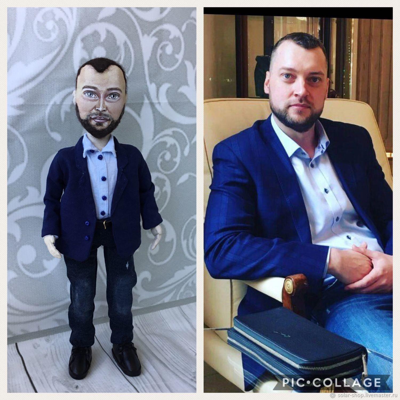кукла по фото, Портретная кукла, Москва,  Фото №1