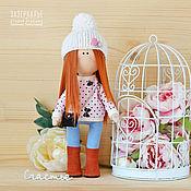Куклы и игрушки ручной работы. Ярмарка Мастеров - ручная работа Интерьерная кукла в свитшоте. Handmade.