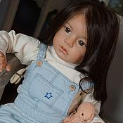 Куклы и игрушки ручной работы. Ярмарка Мастеров - ручная работа кукла реборн Стефания№ 1( Regina Swialkowski). Handmade.