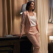 Одежда handmade. Livemaster - original item Summer pantsuit for women. Handmade.