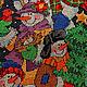 Новый год 2017 ручной работы. Сапожок новогодний вышивка. наталья (handicraftnatal). Интернет-магазин Ярмарка Мастеров. Сапожок для подарков, снеговики
