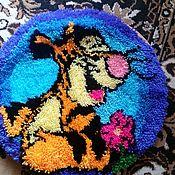 Для дома и интерьера ручной работы. Ярмарка Мастеров - ручная работа Коврик прикроватный, ковровая техника. Handmade.