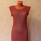 """Одежда ручной работы. Ярмарка Мастеров - ручная работа платье """"Красное в золоте"""". Handmade."""