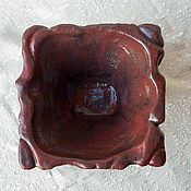 Посуда handmade. Livemaster - original item Vase-bowl Jasper. Handmade.