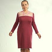 "Одежда handmade. Livemaster - original item Knitted dress ""Clara"". Handmade."