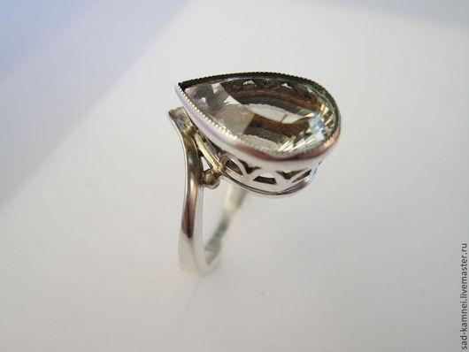Кольца ручной работы. Ярмарка Мастеров - ручная работа. Купить кольцо из серебра с натуральным кварцем. Handmade. Серебряный, камни натральные