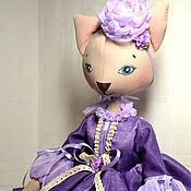 Куклы и игрушки ручной работы. Ярмарка Мастеров - ручная работа Жасмин. Будуарная кошечка. Handmade.