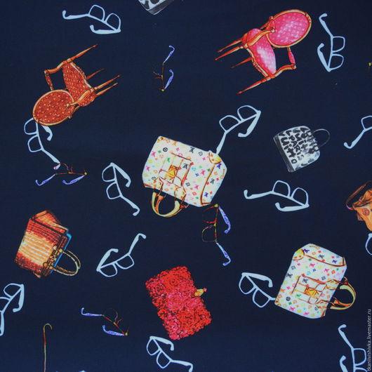"""Шитье ручной работы. Ярмарка Мастеров - ручная работа. Купить Ткань Барби  """"Мода"""". Handmade. Комбинированный, ткань на юбочку"""