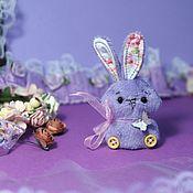 Stuffed Toys handmade. Livemaster - original item Plush bunnies toy miniature. Handmade.