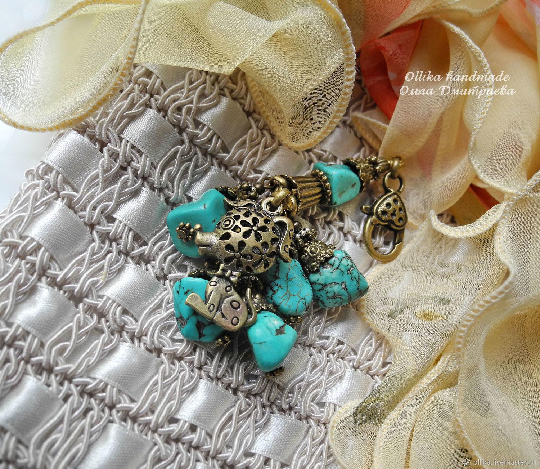 Брелок собачка Мой Ласковый и Нежный Зверь  украшение на сумку