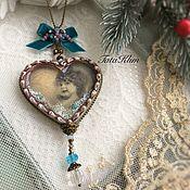 """Подарки к праздникам ручной работы. Ярмарка Мастеров - ручная работа """"Маленький ангел"""" интерьрная подвеска. Handmade."""