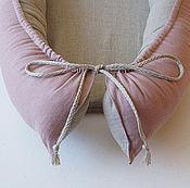 """Кокон-гнездо ручной работы. Ярмарка Мастеров - ручная работа Кокон детский """"Лён"""". Handmade."""