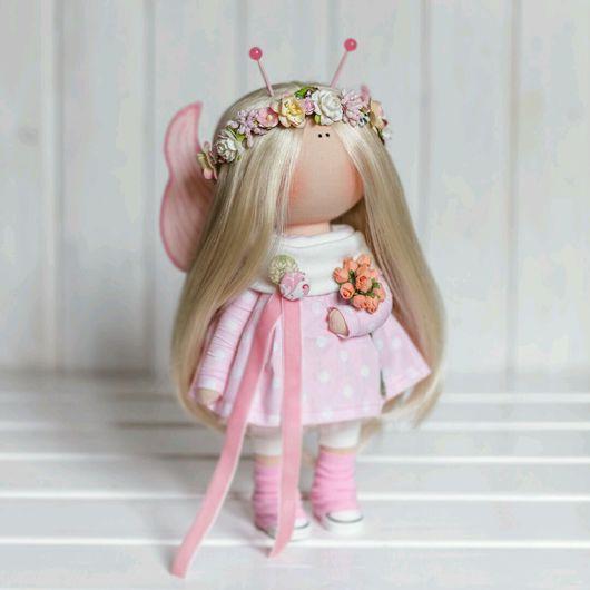 """Коллекционные куклы ручной работы. Ярмарка Мастеров - ручная работа. Купить Интерьерная куколка ручной работы """"Бабочка """". Handmade."""