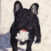 """Картины и панно ручной работы. Ярмарка Мастеров - ручная работа Пёс """"Тайсон """". Handmade."""