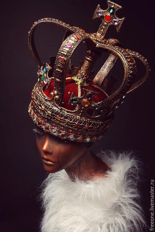 Корона. Красная, Аксессуары, Москва, Фото №1