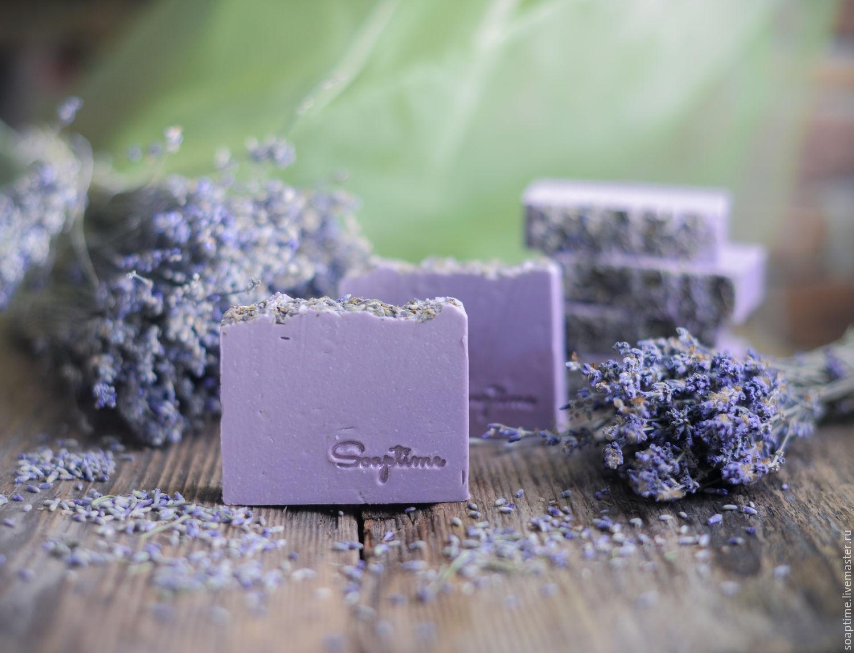 Лавандовое мыло ручной работы рецепт - Подарок на День 86