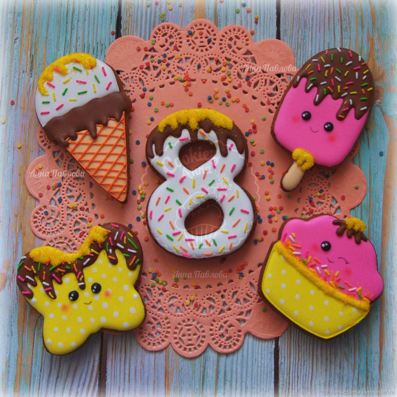 Children's gingerbread on March 8, Gingerbread Cookies Set, St. Petersburg,  Фото №1