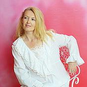 Одежда handmade. Livemaster - original item Nightgown of Batiste Princess gift girl. Handmade.
