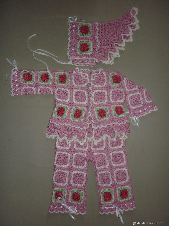"""Одежда для девочек, ручной работы. Ярмарка Мастеров - ручная работа. Купить Костюм """"Цветочное дитя. Царевна роз"""", для девочки. Handmade."""