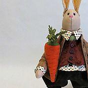 Куклы и игрушки handmade. Livemaster - original item Bunny autumn. Handmade.