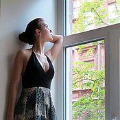 """Одежда ручной работы. Ярмарка Мастеров - ручная работа Платье шелковое """"Штерн"""". Handmade."""