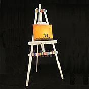 Для дома и интерьера ручной работы. Ярмарка Мастеров - ручная работа Мольберт для художника напольный раскладной. Handmade.