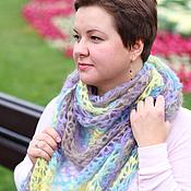 Аксессуары ручной работы. Ярмарка Мастеров - ручная работа SILKHAIR шаль-платок. Handmade.