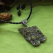 Фен-шуй и эзотерика handmade. Livemaster - original item pendant with green garnets. Handmade.
