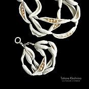 "Украшения handmade. Livemaster - original item Porcelain bracelet ""The dream fisherman`s wife"". Handmade."