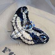 Украшения handmade. Livemaster - original item Midnight butterfly brooch. Handmade.