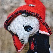 Куклы и игрушки handmade. Livemaster - original item Teddy - Panda Beetlejuice!! Beetlejuice! Beetlejuice!!!. Handmade.