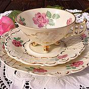 Винтаж handmade. Livemaster - original item August Schweig & Co(1930-1940.) Antique tea trio.. Handmade.