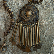 Украшения handmade. Livemaster - original item Necklace in the ethnic style of