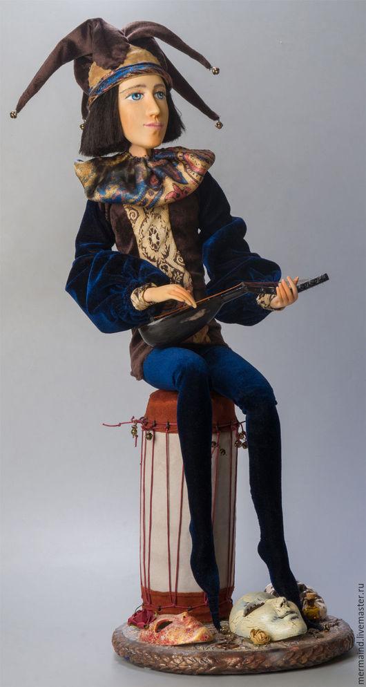 """Коллекционные куклы ручной работы. Ярмарка Мастеров - ручная работа. Купить Лики Бытия. Проект  МОАК  """"Королевские шуты"""". Handmade."""