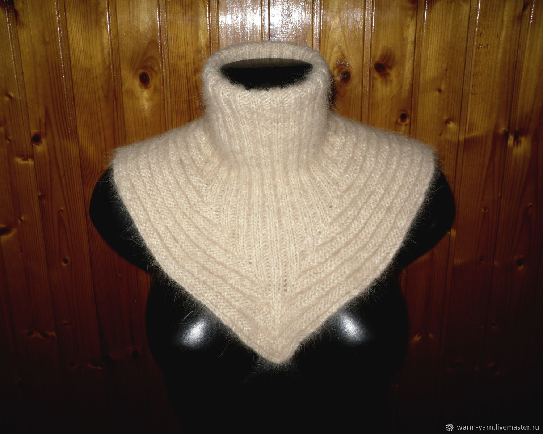 Women's knitted dickey Gold, Dickies, Klin,  Фото №1