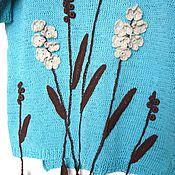 """Одежда ручной работы. Ярмарка Мастеров - ручная работа Джемпер """"Первоцветы"""". Handmade."""
