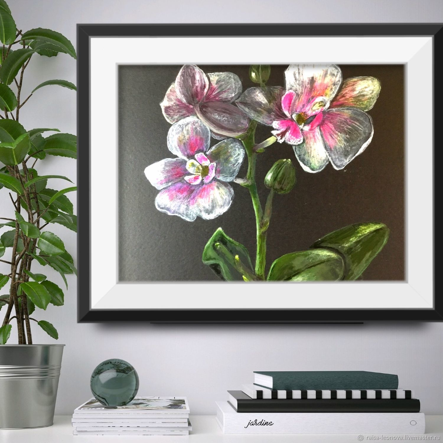 Paintings: orchids, Pictures, Sopot,  Фото №1